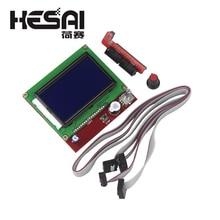 3d принтер Smart control ler RAMPS 1,4 lcd 12864 128X64 панель управления синий экран
