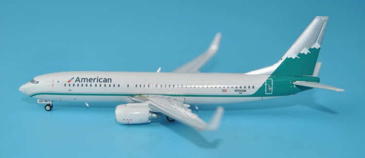 new Gemini Jets 1: 400 GJAAL 1509 American Airlines B737-800 / w N916NN Alloy passenger aircraft model Collection model