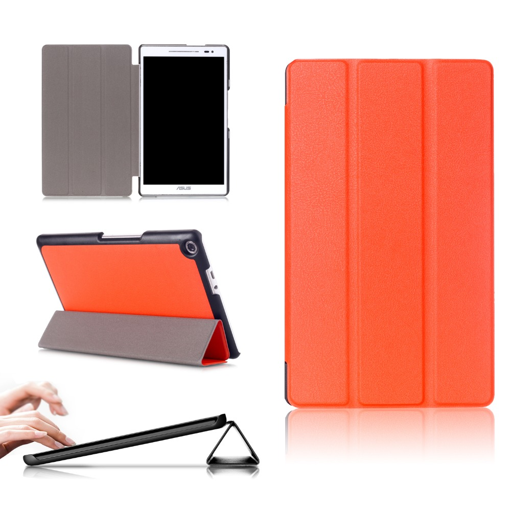PU Leather Cover Case for Asus Zenpad 8.0 z380m z380kl z380kl Z380knl P024 tablet case for Asus zenpad 8.0 case z380m 6b024a