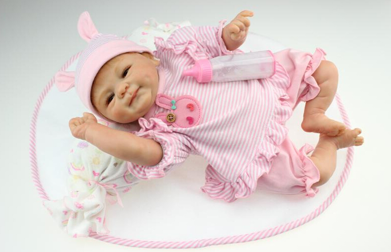 40cm Silicone reborn baby doll for sale vinyl newborn princess babies doll bebe reborn girls brinquedos play house bedtime toy npkcollection 40cm silicone reborn baby doll toy lifelike play house bedtime toys gift for kid lovely newborn girls babies dolls