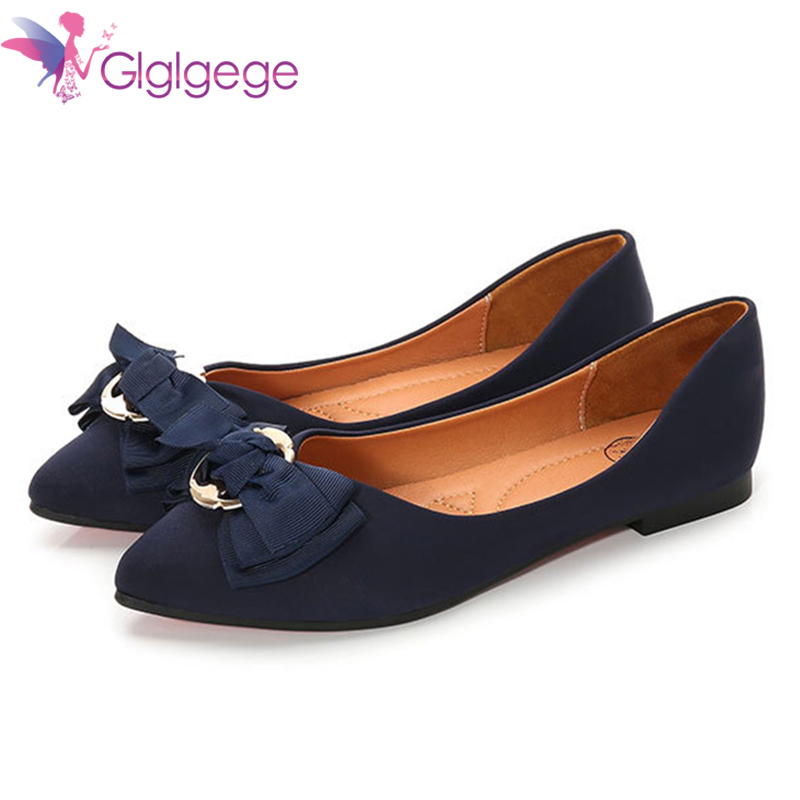 Grande Casual Ga00249 Chaussures ga00249 Plat Ballet Taille Femelle 2019 Mode Top De blue Automne black Femmes Sauvage Arc Xiuteng Pointu Rnx0OSw