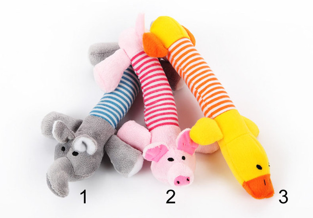 Dog Cat Pet Chew Toys Canvas Durability Vocalization Dolls Bite Toys for Dog Accessories pet dog products High Quality Cute 4 1