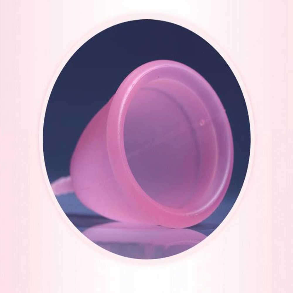 1000pcs/lot Feminine hygiene menstrual cup medical grade silicone cap  menstrual lady menstrual cap bottle mestrual menstruation