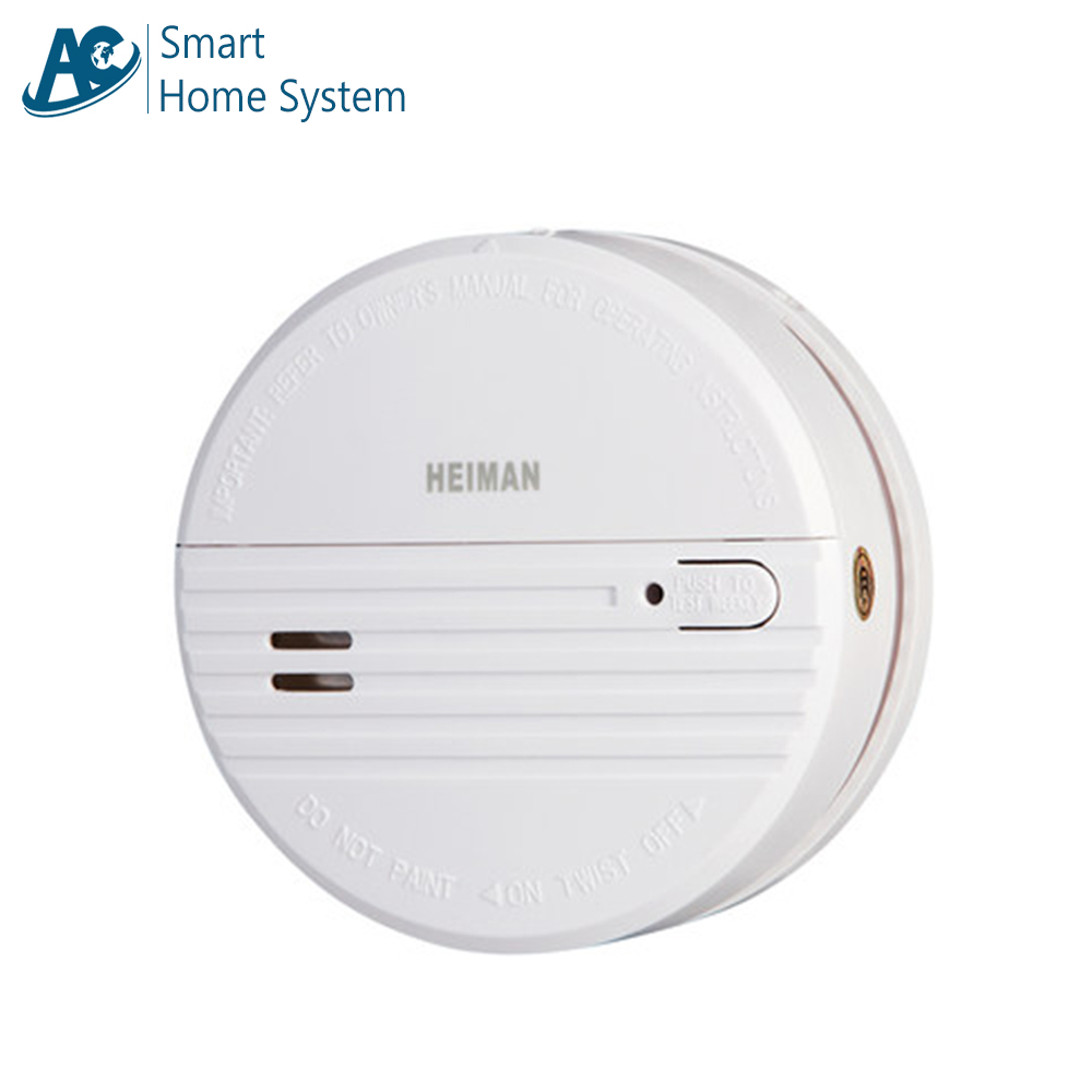 The Best Photoelectric Smoke Detector Battery Operated Independent Fire Alarm Smoke Detecting System