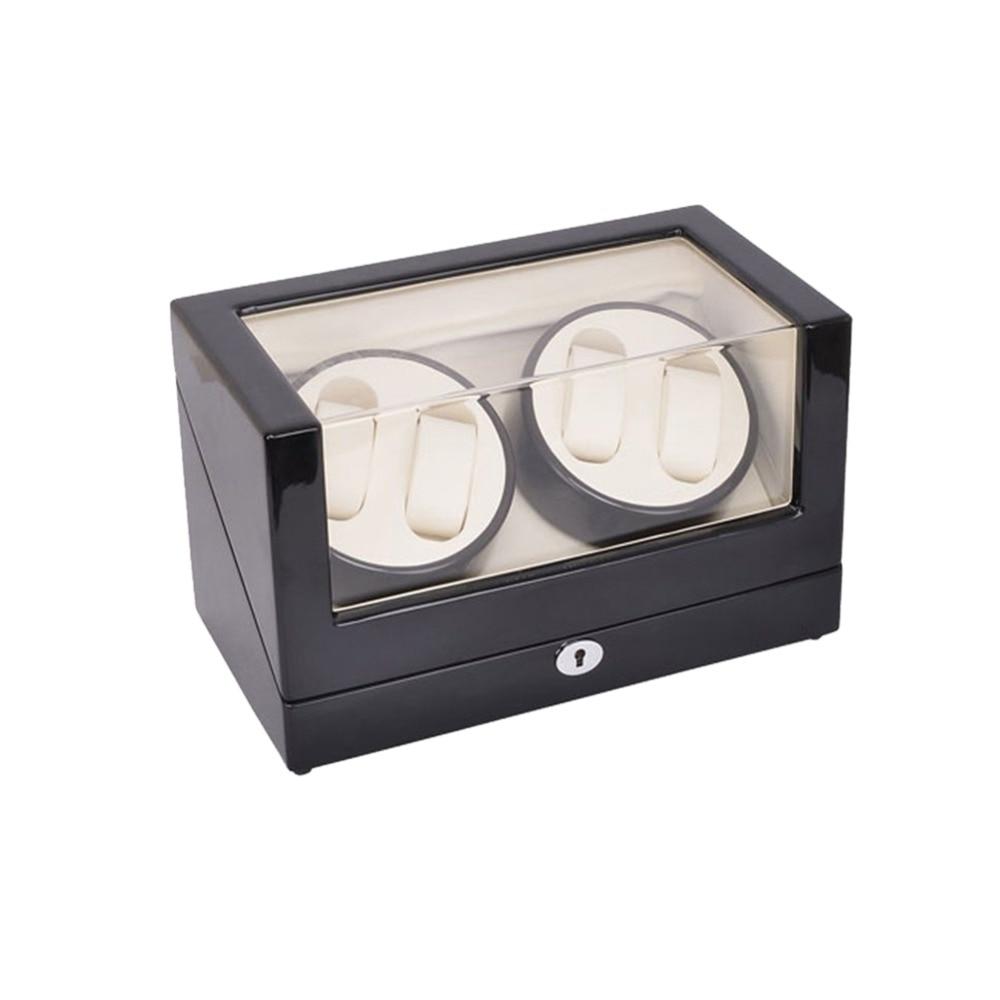 İzle Sarıcı, LT Ahşap Otomatik Rotasyon 4 + 0 İzle Sarıcı - Saat Aksesuarları - Fotoğraf 6