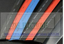 Соотношении 2:1 термоусадочная трубка Термоусадочной Трубки Черный термоусадочная трубка 180 мм изоляции PB-free 1 М/лот