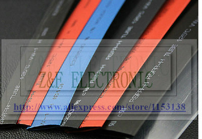 Electronic Components & Supplies Insulation Materials & Elements Ratio 2:1 Heat Shrink Tube Shrinkable Tubing Black Shrink Tube 180mm Insulation Pb-free 1m/lot Smoothing Circulation And Stopping Pains