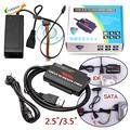 """Universal USB 3.0 a 2.5 """"/3.5"""" SATA/IDE de Disco Duro con Adaptador de fuente de Alimentación Para 2.5 """"/3.5"""" HDD, CD/DVD-ROM, CD/DVD-RW FW1S"""