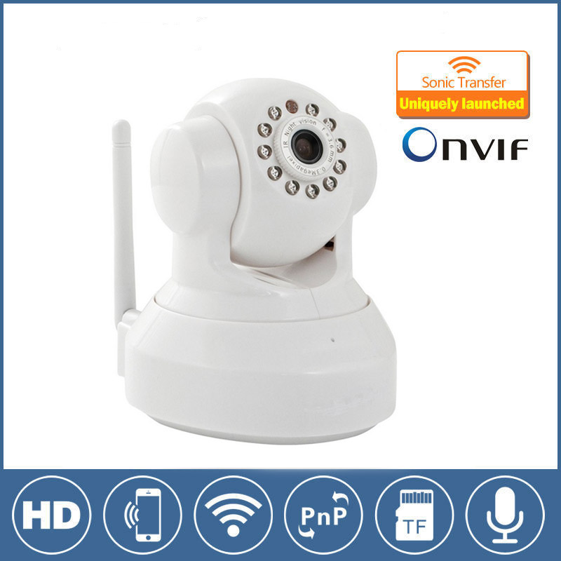 H.264 HD 720P Camera P2P Pan/Tilt IR Cut WiFi Wireless Network IP Security Camera Remote Control by phone for home house baby howell wireless security hd 960p wifi ip camera p2p pan tilt motion detection video baby monitor 2 way audio and ir night vision