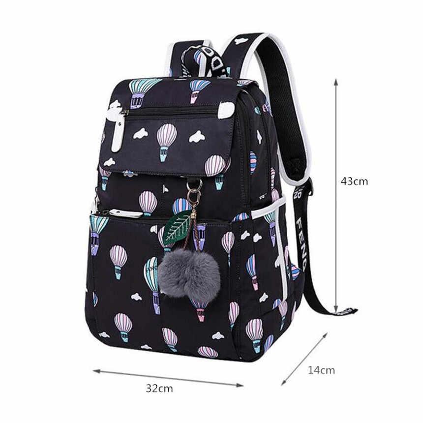 FengDong genç kızlar için okul çantaları su geçirmez okul çantası usb sırt çantası çocuk sırt çantası çocuk laptop çantası dropshipping