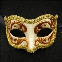 Hombres/Mujeres Traje de Baile Bola de Mascarada de la Máscara Veneciana Del Carnaval Del Partido de Danza Máscara de Halloween Disfraz