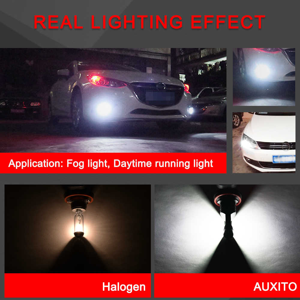 2x H8 LED H11 bombilla de luz antiniebla 9006 HB4 H3 H10 9145 PS X 24W H16 bombillas LED COCHE DRL niebla lámpara para Toyota Corolla CHR Camry 2018 Auris