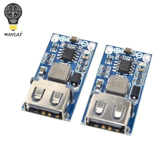9 V 12 V 24 V a 5 V 3A USB step-down voltaje regulador módulo DC-DC convertidor teléfono módulo de fuente de alimentación del coche cargador WAVGAT