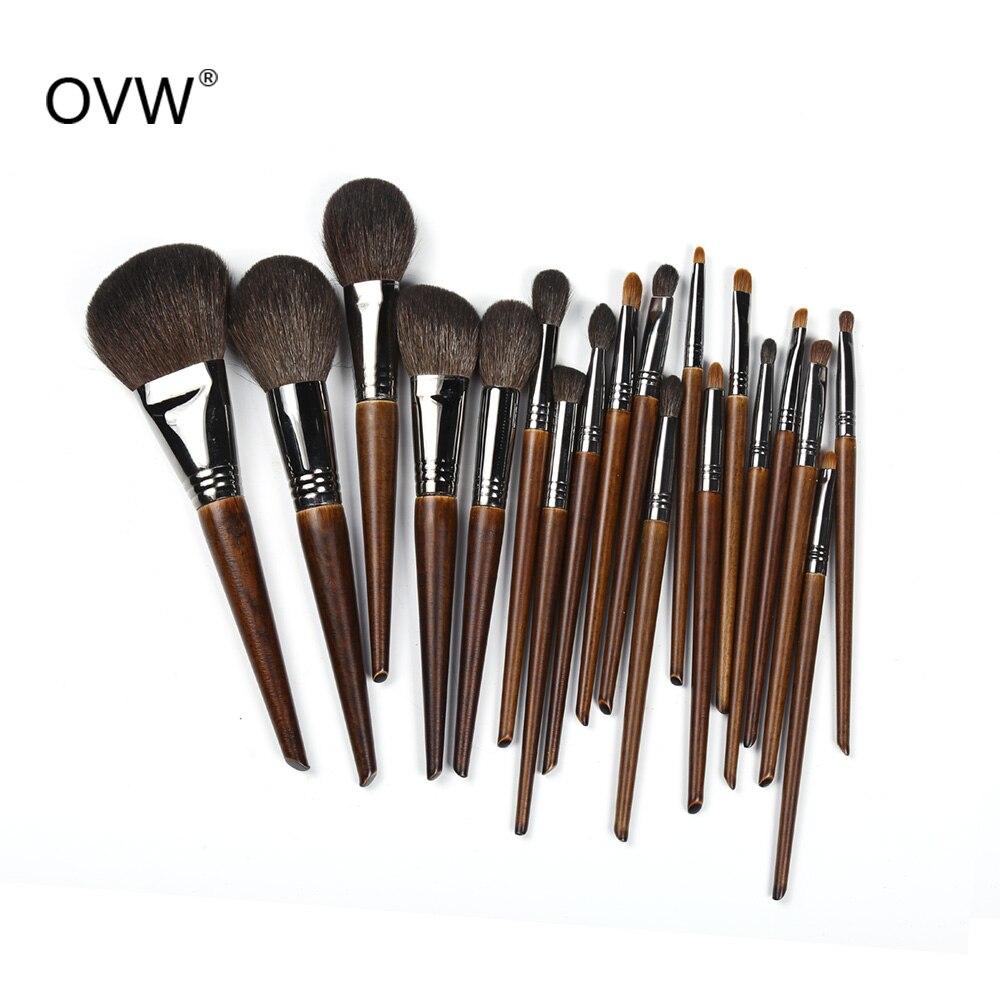 OVW Makeup-Brushes-Set Eyeliner Foundation-Powder Beauty-Tool-Kit Cosmetic Eye-Shadow