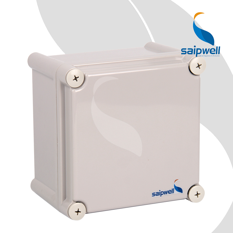 190*190*130mm  Plastic Screw Design  ABS  Enclosure / Saipwell Industrial Waterproof Box  (SP-02-191913)