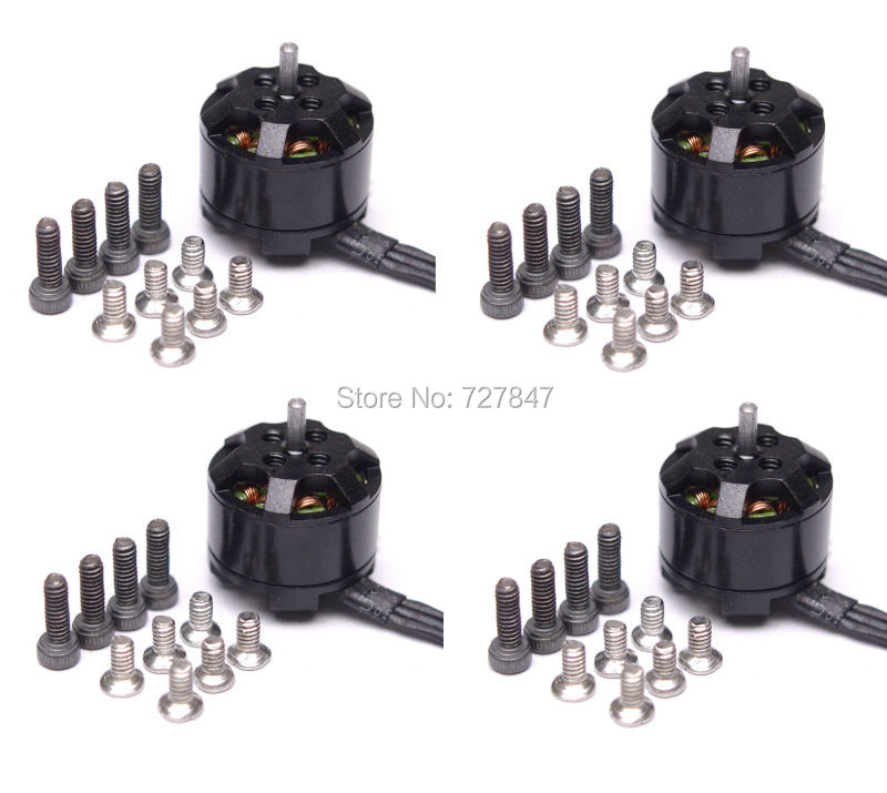 4pcs 1104 4000KV Brushless Brushless Motor for Mini FPV QAV130/QAV150 Diatone Quadcopter Multicopter Frame eplutus ep 1104 в тамбове