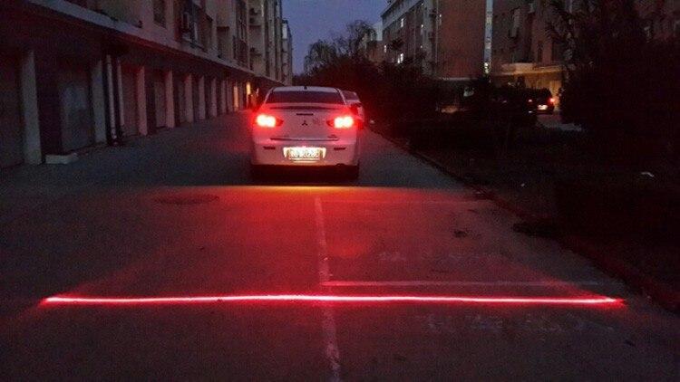 Anti Collision Rear End Car Laser Tail 12v Led Car Fog
