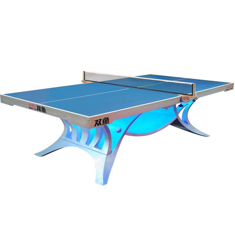 Premium Double Fish Volant King ITTF Approved And NSCC Pingpong Table Tennis Table For International Tournament 25mm Thickness