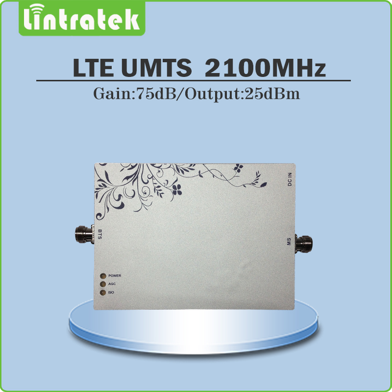 Gain 75dB (LTE Band 1) 2100MH Signal Repeater Cellphone Signal Booster WCDMA UMTS 2100MHZ Signal Amplifier with AGC/MGC @8.7Gain 75dB (LTE Band 1) 2100MH Signal Repeater Cellphone Signal Booster WCDMA UMTS 2100MHZ Signal Amplifier with AGC/MGC @8.7