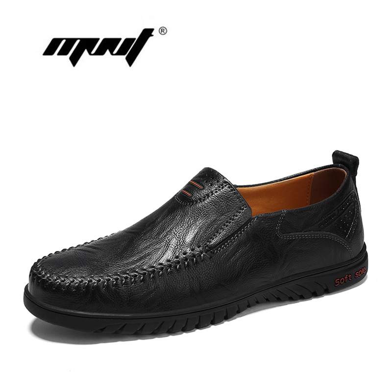 Genuine Leather Men Shoes Fashion Breathable Men Casual Shoes Top Quality Driving Shoes Plus Size Flats Shoes Men cyabmoz plus size 38 47 fashion men shoes breathable casual moccasins men loafers high quality genuine leather shoes men flats