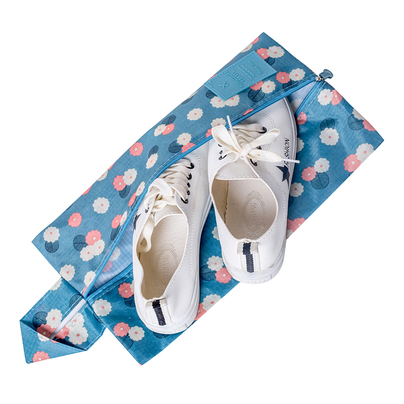 Floral Luggage Travel Accessories Waterproof Hanging Shoes Bags Practical Portable Storage Pouch Organizer Supplies Products