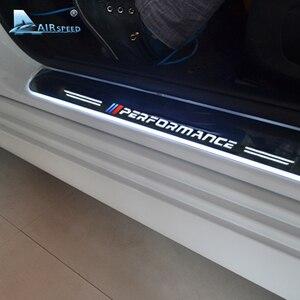 Image 1 - 対気速度 LED ドアシルスカッフプレートガードドア敷居のカー Bmw X5 F15 X6 F16 F20 F21 F30 e90 F10 F11 E60 E70