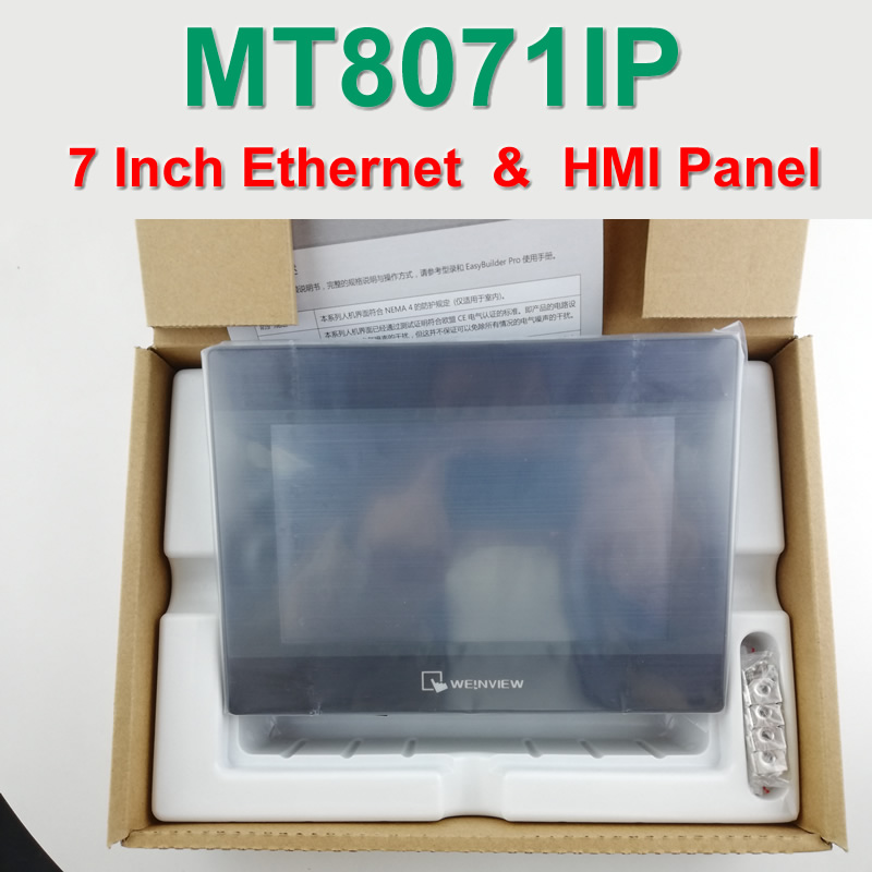 MT8071IP 7 inch 800*480 Ethernet 1 USB Host Touch Panel Display HMI,WEINTEK & WEINVIEW ,HAVE IN STOCK