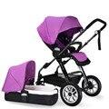 Kinderwagens 3 en 1 cochecito de bebé Barato del bebé Cochecito del Paraguas Ligero Cochecito de Bebé Plegable Ultra Portátil 8 Colores