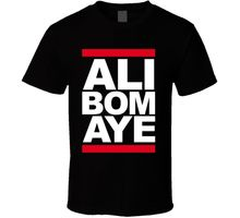 Ali Bomaye Mohammad Rumble In The Jungle Boxing T Shirt Harajuku Tops Fashion Classic Unique t-Shirt gift free shipping