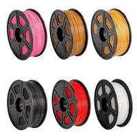 Newest 6 Colors 330m 1082ft Length Plastic ABS 1 75mm 3D Printer Filament Consumables Material For