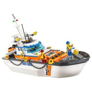 Coast Guard Head Quarters Compatible Legoe City Coast Guard 60167 Building Blocks toys for Childrens Bricks Model 1