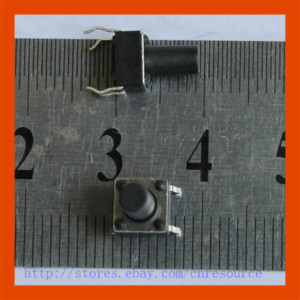 New 10 x Tactile Push Button Switch Momentary 6x6x9. 5mmNew 10 x Tactile Push Button Switch Momentary 6x6x9. 5mm