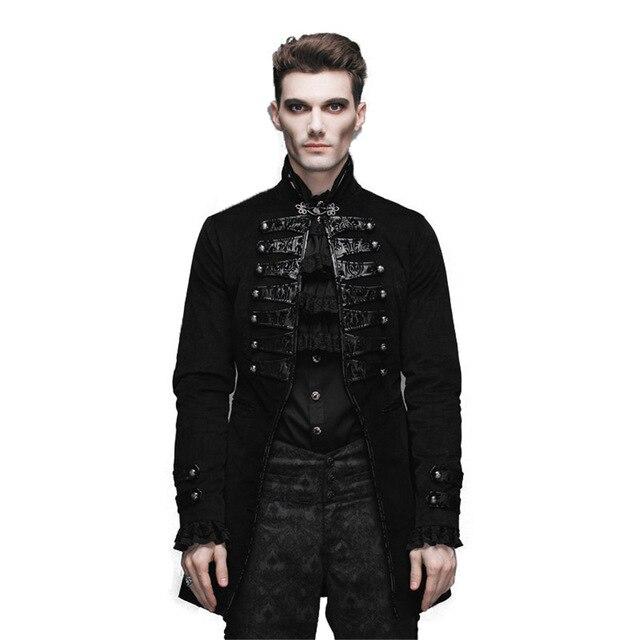Devil Fashion Gothic Vintage Men's Victorian Jackets
