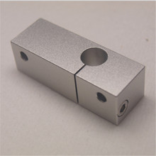 Wanhao i3 Cooling Block Upgrade Slotted Clamping aluminum fixing holder for Wanhao i3 3D printer spare parts
