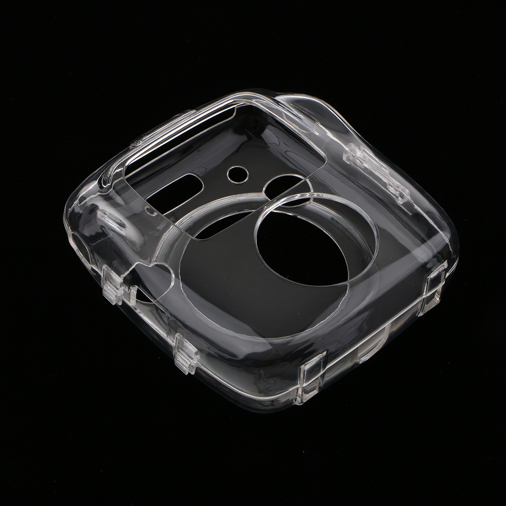 Crystal Camera Protective Case with Shoulder Strap for Fujifilm Instant SQ10 Camera-Clear image
