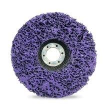 125 мм полиполосный диск абразивные колеса для удаления краски ржавчины чистые шлифовальные круги для прочного углошлифовального станка автомобиль грузовик, мотоциклы