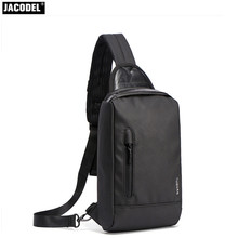 2017 Casual Men Messenger Bag Chest Pack Korean and Japan Style Simple Shoulder Cross Body Bags for Ipad Anti theft Chest Bag