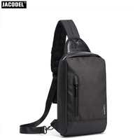 2017 Casual Men Messenger Bag Chest Pack Korean And Japan Style Simple Shoulder Cross Body Bags