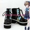 Custom Made Japanese Anime 100 Sleeping Princes & The Kingdom of Dreams Burokionn Cosplay Shoes Long Boots For Halloween
