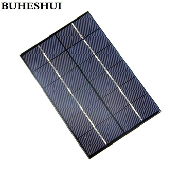 BUHESHUI 4.2W 6V Solar Cell Polycrystalline Solar Panel Module DIY Solar Charger Study 10pcs 130*200*3MM Wholesale Free Shipping
