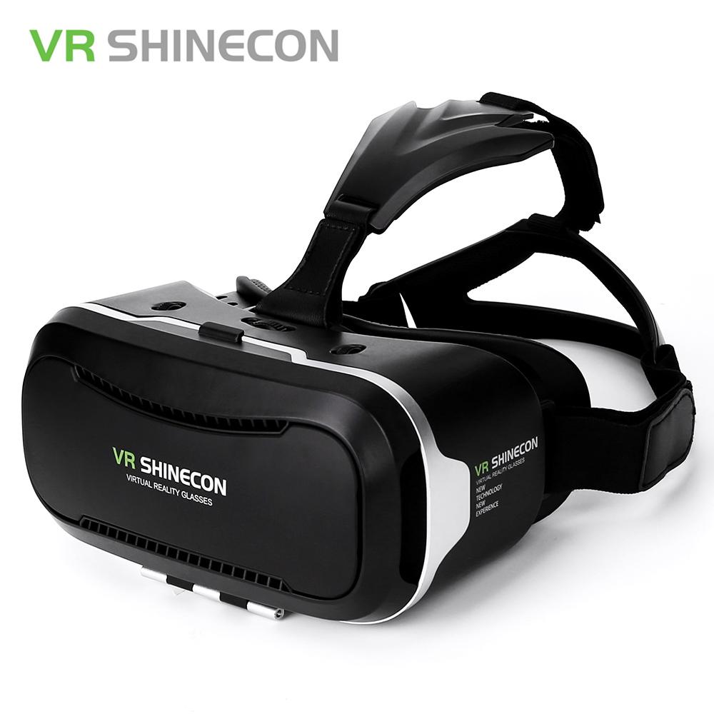 Original Shinecon VR Box 2.0 Google Cardboard Virtual Reality Smartphone Goggles Glasses Headset With Mocute Bluetooth Gamepad 6