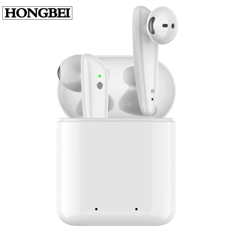 <font><b>i18</b></font> <font><b>TWS</b></font> Bluetooth 5.0 Wireless <font><b>Earphones</b></font> Earpieces mini Earbuds <font><b>i18</b></font> With Mic For iPhone X 7 8 Samsung S6 S8 Xiaomi Huawei LG image