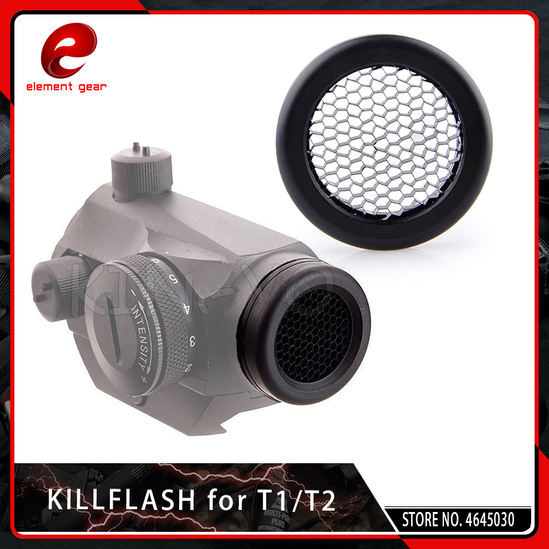 Element Airsoft Killflash/Kill Flash For Solar Red Dot T-1 / T1 / T-2 / T2 / TR02 Red Dot Sight Scope Accessories