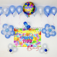Birthday Party Supplies boy/girl children birthday party decorative balloon suits set baby 100 days site 5 style available