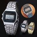 Casais moda F91w & A159w Relógios Liga Relógio Eletrônico Relógio Digital Militar Cinto De Fina ~ M24