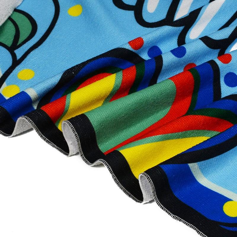 XC USHIO Wall Hanging Tapestry Beach Scarf  Bedspread Mat Skeleton Head Tablecloth Yoga Bikini Sofa Cover Up   (1)