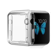นาฬิกาสำหรับ Apple Watch series 4 3 2 1 กรณี 42 มม.38 มม.m 40 มม.44 มม.TPU case Protector สำหรับ iWatch 4 44 มม.