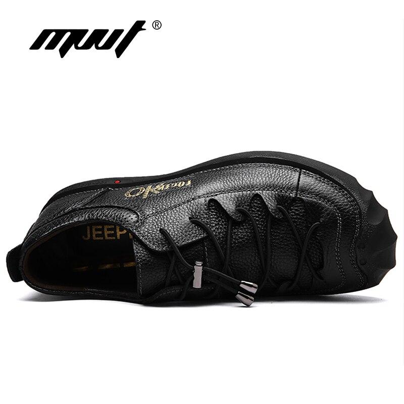 De Semelle Chaussures Véritable marron Qualité Noir Cuir Appartements Marche Hommes En Mvvt Casual Caoutchouc Style Bonne Britannique XOUwxx