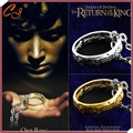 The Lord of the ringer gold ringer The European and American film and television the ring ring adorn article