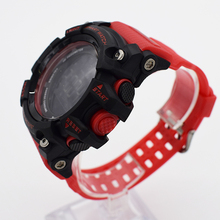 Bounabay impermeable relojes digitales para los hombres digitais saat reloj smartwatch running para hombre hombre digitales reloj informal al aire libre